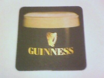 GUINNESS - The History of GUINNESS beermat / coaster -