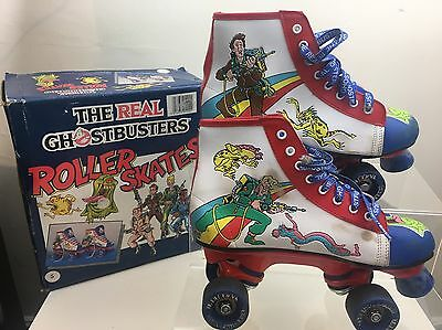 Vintage Retro The Real Ghostbusters Roller Skates Collectors