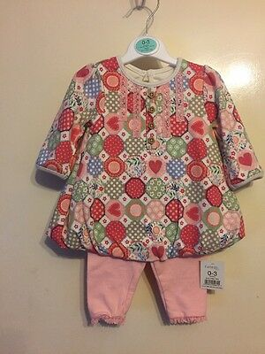 Baby Girls Outfit Size 0-3 From George