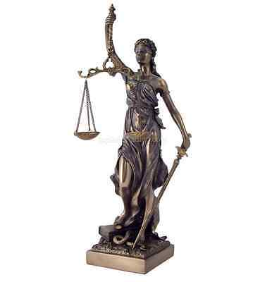 Blind Lady Justice Statue Lawyer Gift Figurine Sculpture