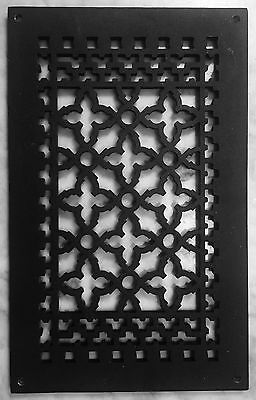 Cast Iron (Black) Wall/Floor Grille - Set of 4