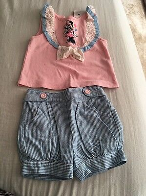 Baby Girl 3-6 m Disney Store Outfit