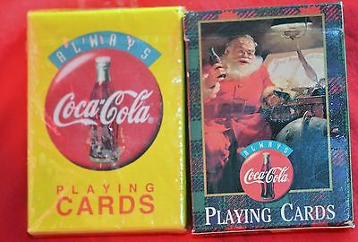 Coca Cola Playing Cards 1994 and 1997