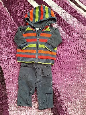 Baby Boy Blue Zoo Clothes Size 3-6Months