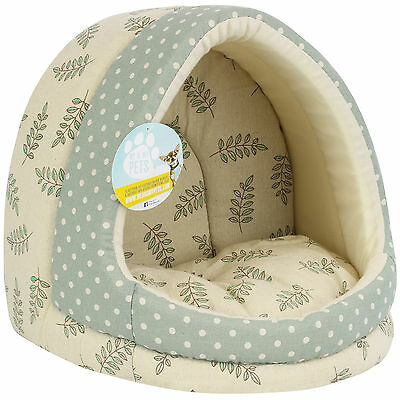 Me & My Small Leaf Igloo Pet Bed For Hamster/kitten/rabbit/ferret/rat/guineapig
