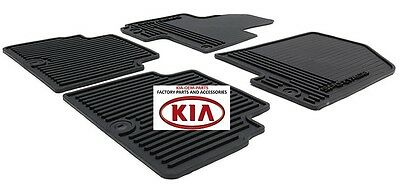 Genuine 2014 - 2016 Kia Sportage All Weather Floor Mats 3W013 Adu10