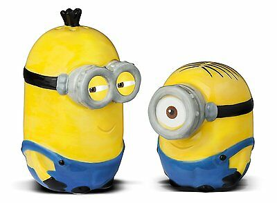 Childrens Novelty Salt and Pepper Shakers, Yellow Kitchen Adults Gift