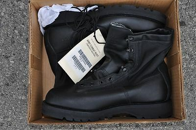 Wellco GICB Cloth Side Gore-tex Infantry Leather Boots New in the Box Size 12 W