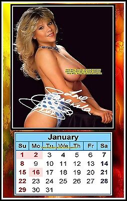 The 2017 Samantha Fox, SIGNED, Magnetic Mini Calendar, Limited Edition (MT-16)