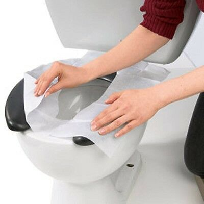 10 Disposable High Quality Toilet Seat Cover Hygienic Protection Flushable Cover