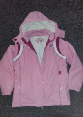 Next Girls Ski Snow hooded Jacket Coat Age 13-14 Years excellent condition