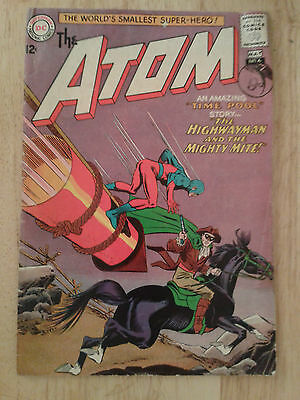 The Atom #6,1963 ,VG / VG+, cents