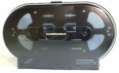 NEW IN BOX Commercial Size Double Roll Toilet Paper Dispenser VONDREHLE 325WAL