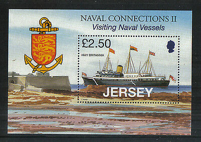 Jersey 2008 Royal Navy Vessels ss--Attractive Ship Topical (1333) MNH