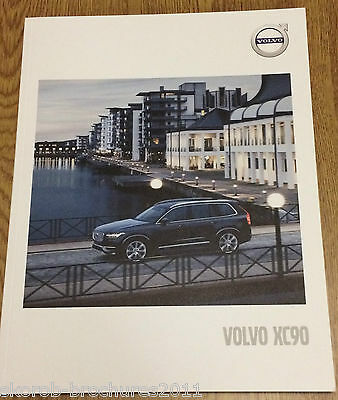 VOLVO - The XC90 Sales Brochure 2017.