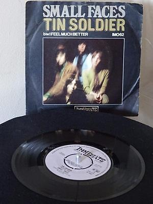 """SMALL FACES 7"""" single Tin Soldier UK Psych Beat 45 1967 PS EX"""
