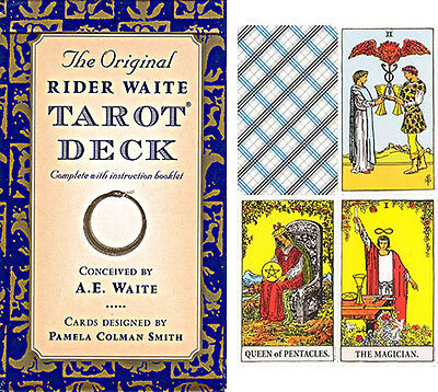 The Original Rider Waite Tarot Deck Cards and guide book /New-Sealed/UK-seller.