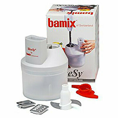 Bamix SliceSy Attachment - Turns your Bamix into a Food Processor
