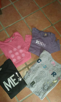 lot tee shirts fille 12 ans