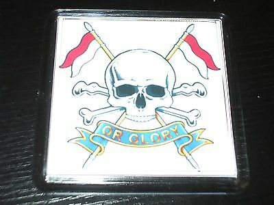 The Royal Lancers Plastic Drinks Coaster