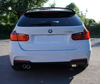BMW F31 Touring RARE M Performance rear door roof spoiler cover wing trim lip