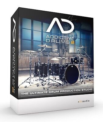 XLN Audio Addictive Drums 2 Full License (Plugin+Standalone+Library)