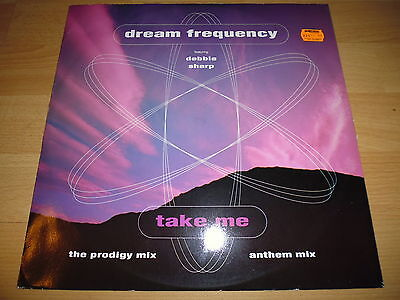 """12"""" - Dream Frequency Feat Debbie Sharp - Take Me (The Prodigy Remix) - Citybeat"""