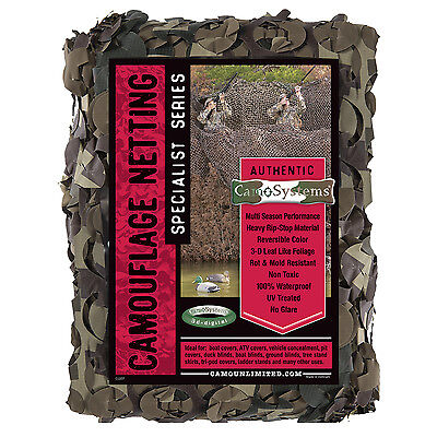 "Flyway Ultra-Lite Rip Stop Camo Netting  Large (7'10"" x 19'8"")"