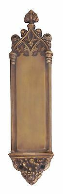 Renaissance Aged Brass Door Push Plates  3-3/8 in. X 16 in.  A04-P5600-486