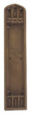 Renaissance Aged Brass Door Push Plates  3-3/8 in. X 18 in.  A04-P5840-486