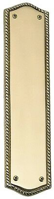 LAS VEGAS HARDWARE Polished Brass Push Plate  2-3/4 in X 11 in A06-P0250-605