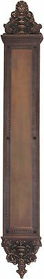 Renaissance Aged Brass Door Push Plates  3-5/8 in. X 25-1/2 in.  A04-P5240-486