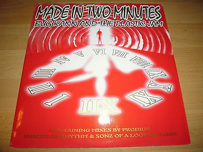 """12"""" - Bug Kann & The Plastic Jam - Made In 2 Minutes (The Prodigy Remix #1)"""
