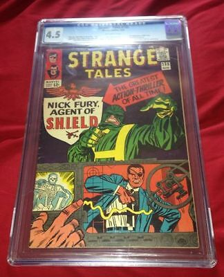 STRANGE TALES #135 CGC 4.5 1st Appearance of Nick Fury Agent of Shield **L@@K**