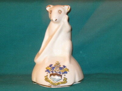 Botolph China Mouse Playing Banjo - CHELMSFORD crest