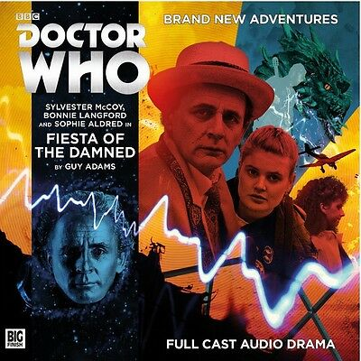 Doctor Who 215 Fiesta Of The Damned. Big Finish CD New