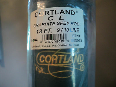 5 Piece Cortland Spey Fly Rod 13 Foot  9/10 Wt Only 4 Left  New