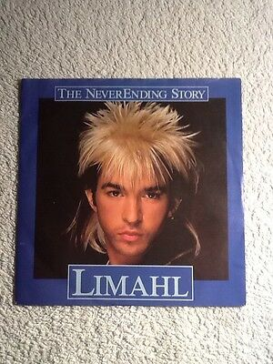 limahl the never ending story 7 inch single