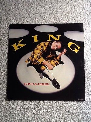 king love and pride 7 inch single