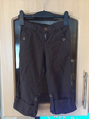 Captain tortue fold up trousers size 6