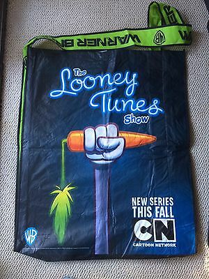 Looney Tunes Show SDCC 2011 Swag Promo Bag Warner Brothers Bugs Bunny Daffy Duck
