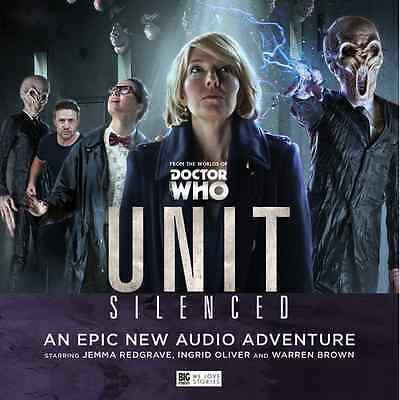 Doctor Who Unit Silenced Boxset. Big Finsh CDs New and Sealed