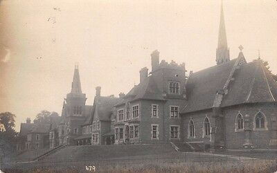 LEICESTER - WYGGESTON, Hospital, Real Photo by Heawood, 1916