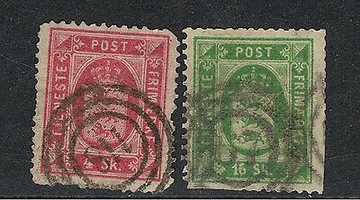 Denmark 1871 Official Stamps