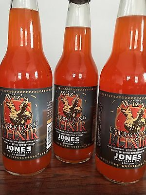 Jones Soda Wiz's Energizing Elixir Final Fantasy XV 15 limited Rare 3 Pack