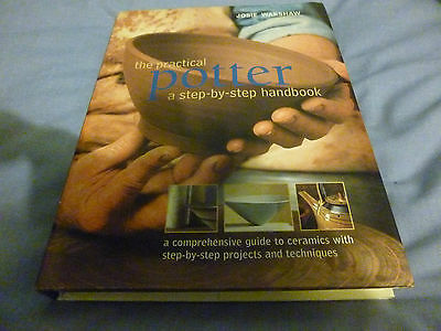 POTTER HANDBOOK - TECHNIQUES, MAKING, EQUIPMENT, FIRING, GLAZE, PROJECTS, etc