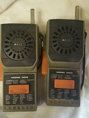 A.C.E walkie talkie radio vintage collectors item