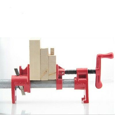 Heavy Duty 1/2 Inch Pipe Clamp Woodworking German Style Fixture Carpenter Metal
