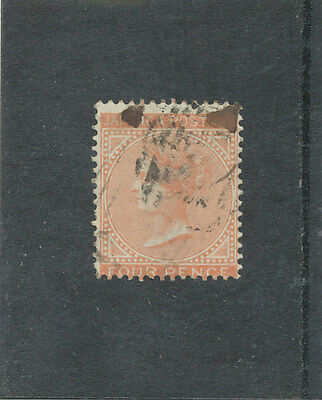 Jamaica QV 1860 4d red-orange SG4a GU