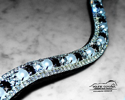 NEU Strass Stirnriemen - Made with Preciosa® - alle Größen